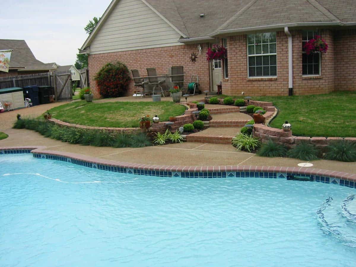 Swimming pool ideas custom in ground swimming pools memphis - Swimming pool companies in memphis tn ...