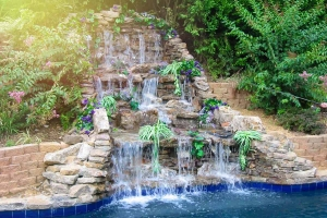Fancy Cascading Rock Fountain