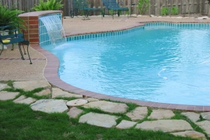Fountain Design Swimming Pool