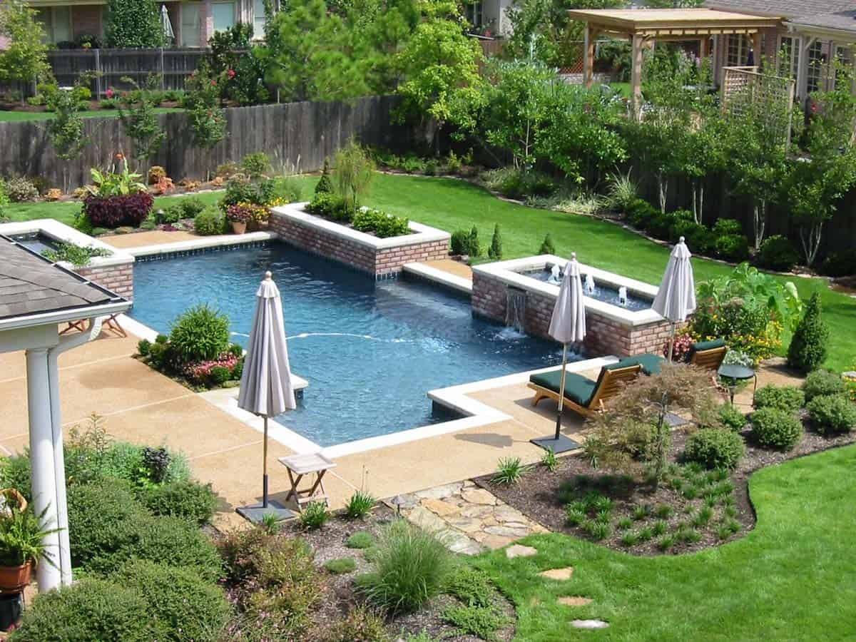 Swimming Pool Ideas - Custom In-Ground Swimming Pools Memphis