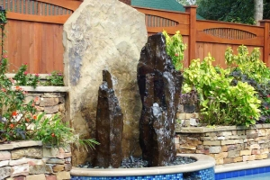 Rock Fountain Feature